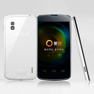 "Original LG Google Nexus 4 E960 Android 3G Wifi 16GB 8MP NFC 4.7"" Unlocked"