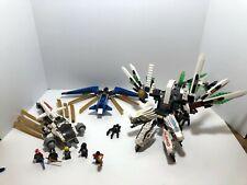 LEGO Ninjago LOT Epic Dragon from 9450 + Raider 9449 + Kai Fighter 9442 see desc