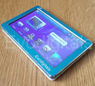 "NEW BLUE 48GB 4.3"" TOUCH SCREEN MP5 MP4 MP3 PLAYER DIRECT PLAY VIDEO + TV OUT"