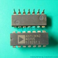 Genuine Analog OP482 Quad Low Power High Speed JFET Operational Amplifier PDIP14