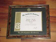 2004 Georgia Bulldogs Younes Idrissi SEC Basketball Academic Honor Roll Award