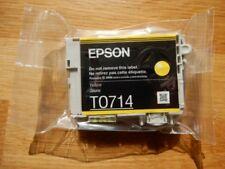 EPSON T0714 YELLOW Print Cartridge - CHEETAH - Genuine and Sealed