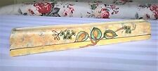 """Vintage shabby chic 1930s or 40s Arthur Wood posy or flower trough vase 12"""" long"""