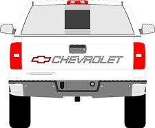Chevrolet ss truck tailgate decals chevy 350 400 454 1500