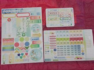 Sticko Pegatinas de bebé niña impresiones Papercraft planificador suministro Scrapbook Hágalo usted mismo Craft