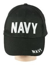 NEU Army US Cap Mütze Basecap Baseballcap BB Baseball USA Navy Marine schwarz BW