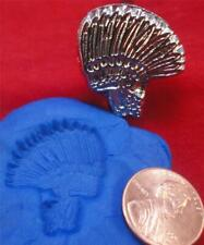 Vtg Rare Baron Tool LA  leather stamp discontinued 901 INDIAN HEADDRESS