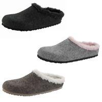 Birkenstock Kaprun Felt Mule Slip On Slippers Sandals Clogs Suede Wool Womens