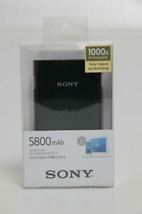 Sony Powerstation Powerbank 5800mAh CP-E6 / B mit Micro USB & USB-A