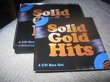 Solid Gold Hits 4 Cd Box Set 70s Gilbert O'sullivan Racey Mungo Jerry Sweet Dana