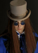 Bram fogoneros Drácula Vampiro Gafas Estilo Redondo Azul