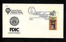 US FDC #2071 Central Penn Bank 1984 PA FDIC Deposit Insurance Unofficial Mr. Zip