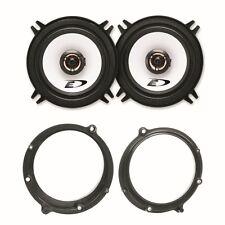 Alpine SXE-1325S 2 Wege Lautsprecher System vorne Einbauset für Audi A4 B5
