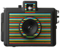 Superheadz Zebra Golden Half  35mm Film Camera New In Package W/Film