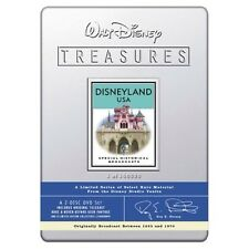 Walt Disney Treasures DVD: Disneyland USA - Broadcasts in Sealed Collectors Tin