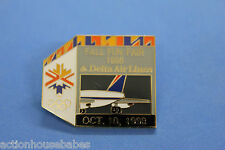 DELTA AIR LINES FALL FUN FAIR - OCT 10,1998 - OLYMPICS GAMES - PIN/LABEL/BADGE