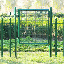 80 cm V2Aox Gartentor Gartent/ür Zaunt/ür Zauntor Gartenpforte Quadratrohr Anthrazit Gr/ün mit Schloss Farbe//T/ürh/öhe:Gr/ün