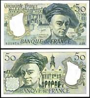 FRANCE 50 FRANCS 1982 P 152 AU-UNC