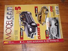 $$$ Revue Model Car Magazine N°5 Mercedes Classe MVolkswagen CoxPeugeot 203