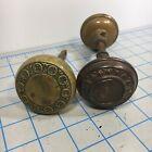 Vintage Antique Brass Door Knobs