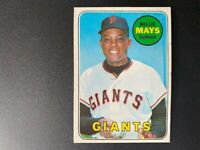 1969 - Willie Mays - San Francisco Giants - Topps #190 NM Baseball Card