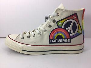 Converse Chuck Taylor 70 HI Men/Unisex Beige/Multicolor Pride US Size 11