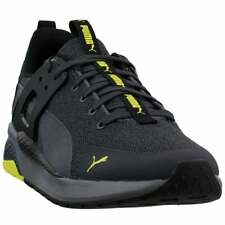 Puma Anzarun Cage Knit Lace Up  Mens  Sneakers Shoes Casual   - Black - Size 9 D