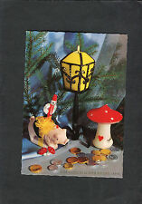 Posted 1967 in Germany Christmas Greetings Card: Toys & Money