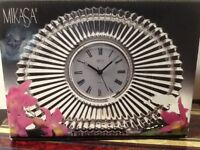 Mikasa Crystal Clock Diamond Fire Japan