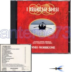 "ENNIO MORRICONE ""I PROMESSI SPOSI"" RARE CD ITALY OST 1989 - SEALED"
