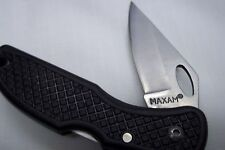 MAXAM FOLDING LOCK BLADE KNIFE WITH BELT CLIP