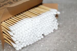 1200 x COTTON BUDS - NEW Dual/Double Ended Tips for cosmetic make up applicator