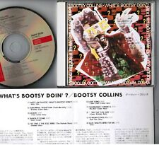 BOOTSY COLLINS What's Bootsy Doin'? JAPAN CD 34DP5535 w/INSERT No Tin Can FreeS
