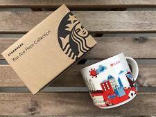 Mug Starbucks ITALY MILAN   ITALIA MILANO 2018 EXCLUSIVE CUP TAZZA