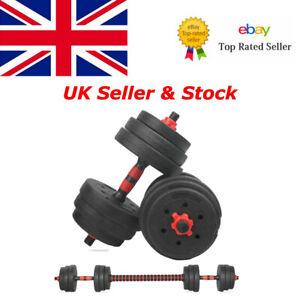 Adjustable Dumbbells Weights Barbell Set 20 Kg Dumbell Workout Gym