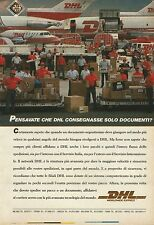 X2624 DHL Worldwide express - Pubblicità 1990 - Advertising
