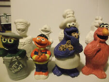 Sesame Street figures paint your own figures cookie monster ernie grouch etc