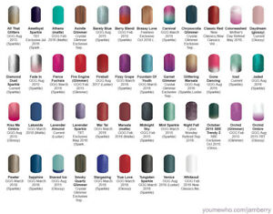 Jamberry Solid & Ombre Nail Wrap Half Sheets ~ retired exclusives ~ free ship