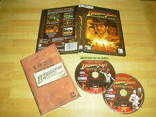INDIANA JONES And The EMPEROR'S TOMB - PC CD-ROM Video GAME Complete - FAST POST