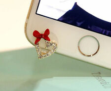 Bow&Heart 3.5mm Front Anti-Dust Ear Cap Plug For iPhone6s,6s Plus 5th,6,6 Plus