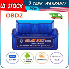 Super Mini ELM327 Bluetooth V2.1 OBD2 Car Diagnostic Tool Scanner Android Torque