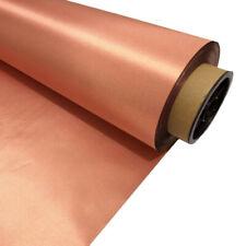 EMF RFID RF Shielding Copper Fabric Roll - 43 X 14 Of Material 10kHz-30GHz