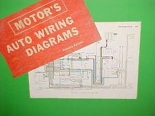 1963 1964 1965 1966 1967 VW VOLKSWAGEN KARMANN GHIA BEETLE WIRING DIAGRAMS