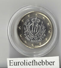 San Marino   OFFICIAL UNCIRCULATED 1 EURO COIN    2010