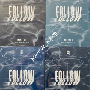 MONSTA-X [FOLLOW-FIND YOU] 7TH MINI ALBUM SELECT VER. 3/4 KPOP OFFICIALLY SEALED