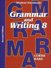 Saxon Grammar & Writing Grade 8 Student Workbook 8th 2nd 2014 Edition