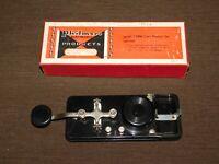 VINTAGE PHILMORE ELECTRONIC MODEL CP250 TELEGRAPH MORSE CODE PRACTICE SET in BOX