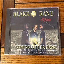BLAKK RANE COMING OUT DA DARK-RARE-OOP-NEW-MEMPHIS
