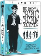The Essential Charlie Chaplin Collection Featuring 50 Films - 10 DVD BOXSET