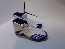 New listing adidas football cleats size 10 blue and white brand new
